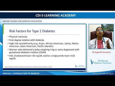 Online Course for diabetes educators