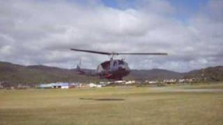 preview picture of video 'New Zealand Air Force Iroquoi - Greymouth'