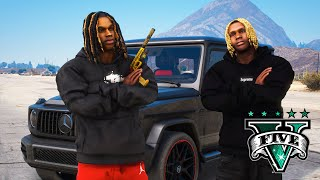 GTA 5 - KING VON and LIL DURK joins The MOB