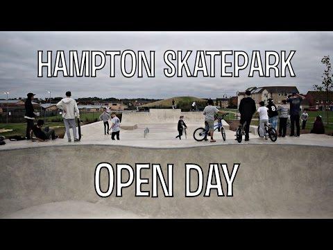 Hampton Skatepark | Open Day