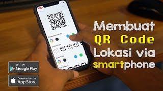 Cara Mudah Membuat QR Code Lokasi untuk Undangan Pernikahan via Smartphone (Android/iOS)