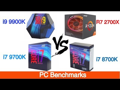 I7 8700K vs I7 9700K vs R7 2700X vs I9 9900K | Tested 13