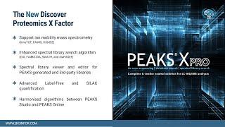 PEAKS Xpro Introductory Webinar