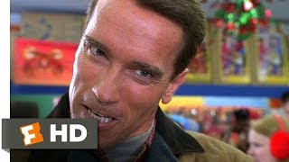 Jingle All the Way (1/5) Movie CLIP - Looking for Turbo Man (1996) HD