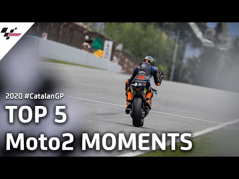Moto2 カタルーニャGP 気になる5シーンを集めたダイジェスト動画