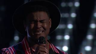 The Voice: DeAndre Nico   When I Was Your Man   Full Blind Audition S15E02