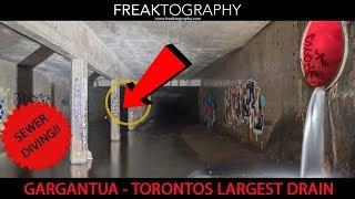 Urban Exploration: Exploring Gargantua - Torontos Largest Storm Drain
