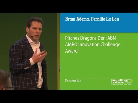 Pitches Dragons Den: ABN AMRO Innovation Challenge Award