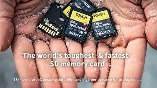 Sony Tough SD memory card