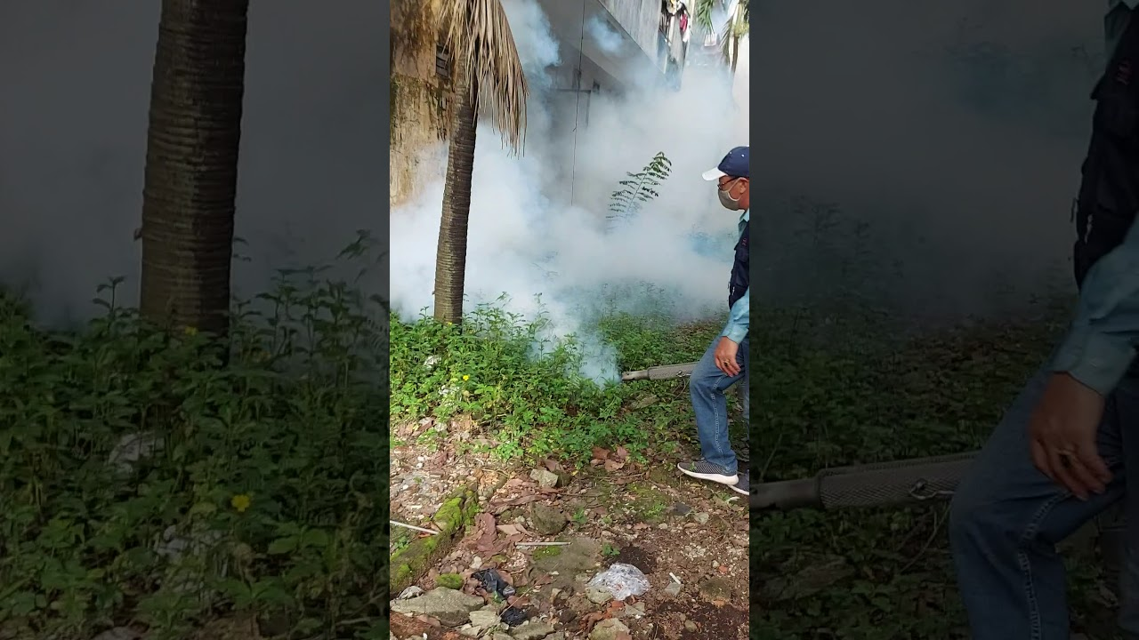Phun diệt Muỗi phòng chống dịch sốt xuất huyết