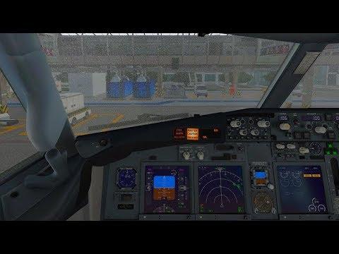 X-Plane 11 Transavia Zibo B737-800 landing at Maastricht