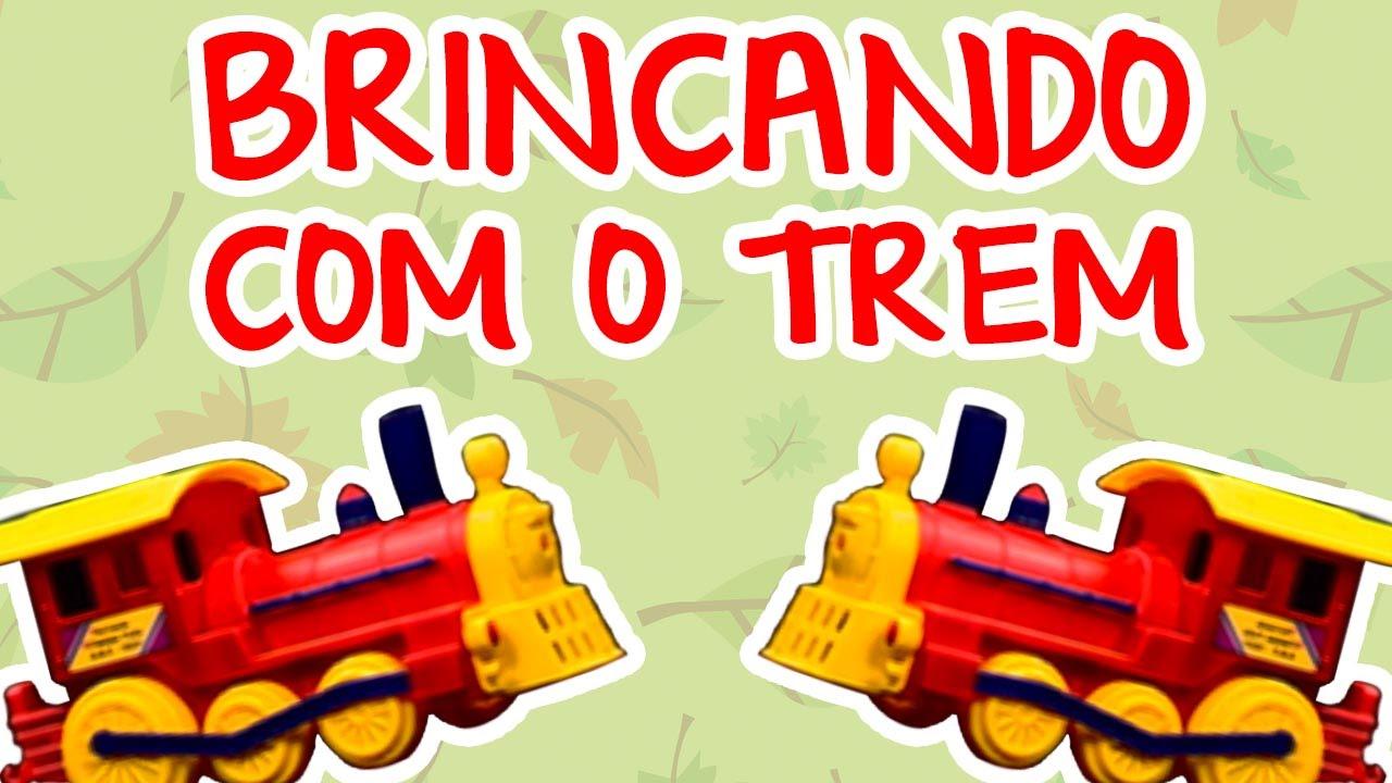 BRINCANDO COM O TREM | BEBÊ MAIS MÚSICA
