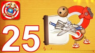 Kick the Buddy - Gameplay Walkthrough Part 25 - All Objects Weapons (iOS)