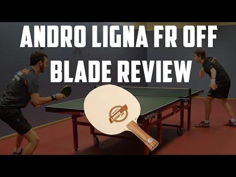 andro Ligna FR OFF Blade Review