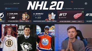 NHL 20 - DRAFT YEAR FANTASY DRAFT CHALLENGE!