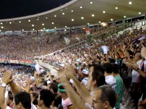 """FLU 3 X ldu 0 festa da torcida parte 7"" Barra: Movimento Popular Legião Tricolor • Club: Fluminense"