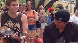 Try Hard - 5SOS (Adelaide pop up acoustic show)