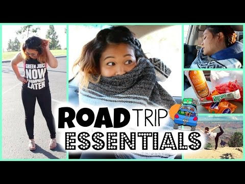 Roadtrip Essentials + Outfit, Snacks & More!
