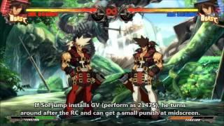 GGXrd: Bursting Grand Viper (GV) Tutorial