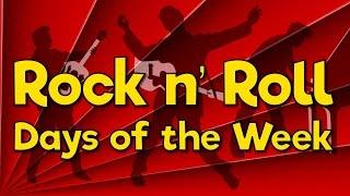 Rock n' Roll Days of the Week   Fun Math Song for Kids   Jack Hartmann