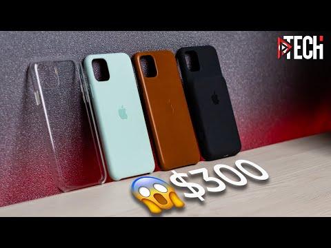 Вся правда об оригинальных чехлах Apple для iPhone (пластиковый, силиконовый, кожаный, аккумулятор)