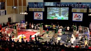 preview picture of video 'FRC North Bay Regionals 2015 Finals Round 1'