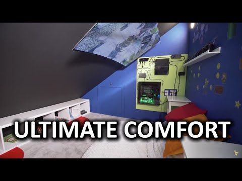 World's Most Comfortable Gaming Setup (Finale)