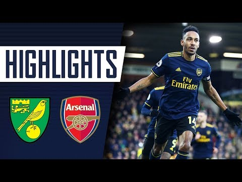 Highlights Norwich City 2 2 Arsenal Premier League