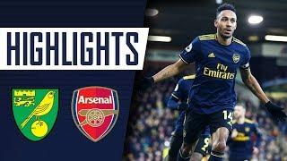 HIGHLIGHTS   Norwich City 2-2 Arsenal   Premier League   Dec 01, 2019
