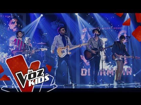 Cepeda y Morat cantan Déjame Ir | Cepeda Sus Amigos | La Voz Kids Colombia 2019