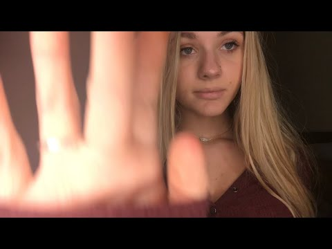 ASMR- EXTRA CLOSE- most tingly/ well known song lyrics whispered/ inaudible/ slow hand movements