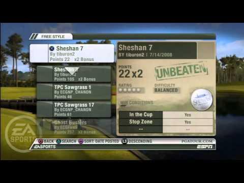 Видео № 0 из игры Tiger Woods PGA Tour 09 (Б/У) [PS3]