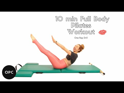 1 Rep Drill on the Mat | Online Pilates Classes - YouTube