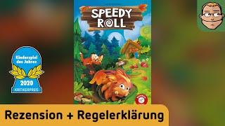 Speedy Roll – Kinderspiel des Jahres – Review und Regelerklärung