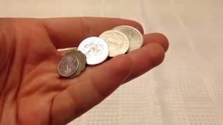 5 Adet Eski Para (Kimsenin Aç Kalmayacağı Bir Dünya, Food Security, Köşeli 1 Kuruş, Yiyecek)