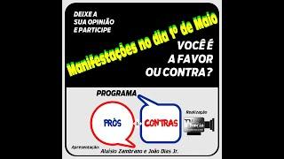 Programa Prós & Contras-Manifestações no dia 1º de Maio