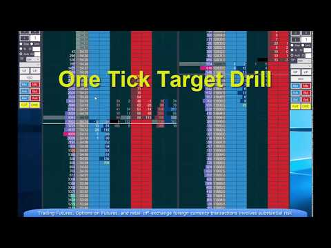 Improve your trading - the one tick target drill