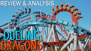 Legendary Roller Coasters - Dueling Dragons Review & Analysis - Islands of Adventure