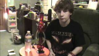 """How to fill a 2 """"chamber"""" bong"""