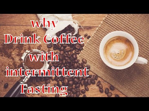 what can you drink coffee with during intermittent fasting
