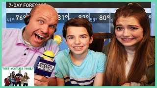 What Did You Say? Speech Breaker - FAMiLY GAME NiGHT / That YouTub3 Family I Family Channel