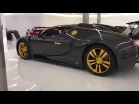 """Đích thân trùm BĐS Mỹ """"khoe"""" cực phẩm độc nhất vô nhị Bugatti Mansory Linea Vincero D'oro"""