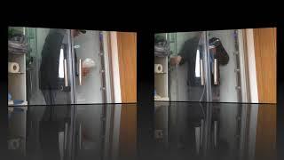 Anleitung und Anwendungsvideo Nanoversiegelung Glasversiegelung extrem verkalkter Glas Dusche