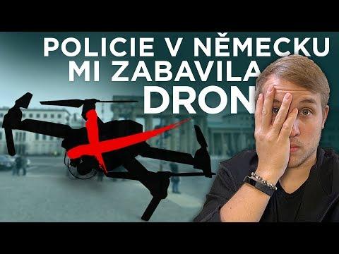Policie v Německu mi zabavila DRON [ VLOG ]