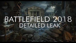 BATTLEFIELD 2018 (WW2) DETAILED INFO LEAK