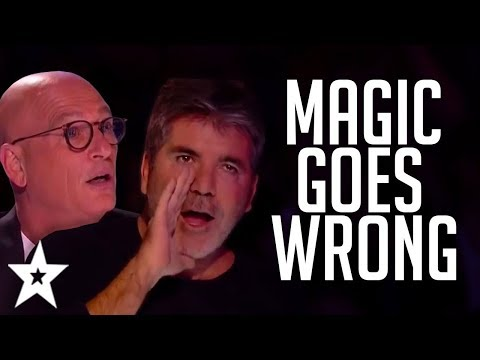 When MAGIC Auditions Go WRONG On Got Talent! | Got Talent Global (видео)