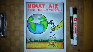 Contoh Poster Hemat Energi Untuk Anak Sd - Contoh Poster Ku