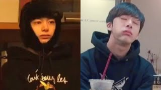 Hyungwon being relatable.