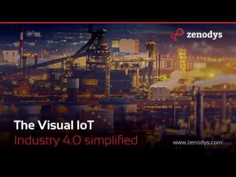 Zenodys - Fully visual IoT platform for Industry 4.0 | @tachyeonz