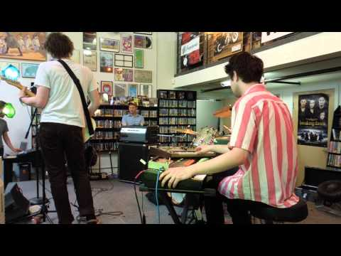 "Palma Violets play ""Last of the Summer Wine"" - Live at Fingerprints Records- 4/21/13"